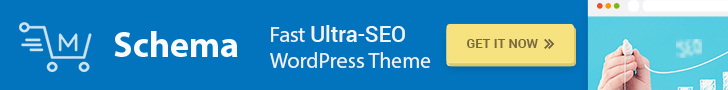 Schema ultra-SEO WordPress Theme!